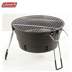 【露營趣】中和安坑 Coleman CM-27319 PACKWAY烤肉爐II/黑 烤肉架 燒烤爐 桌上型烤爐 暖爐 取暖器 BBQ
