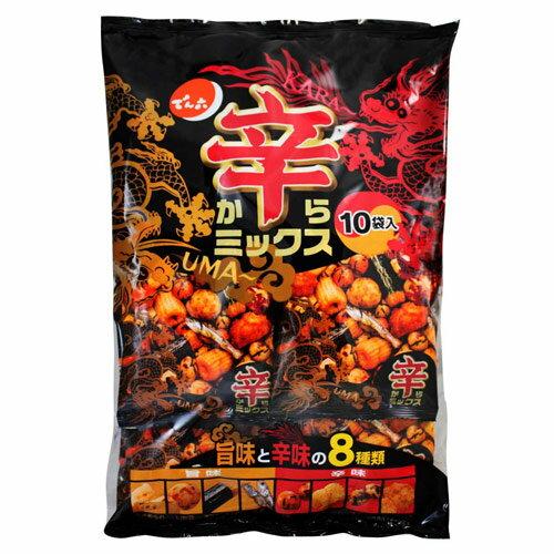 天六辣味什錦豆果子10袋入 (260g)▶全館滿499宅配免運