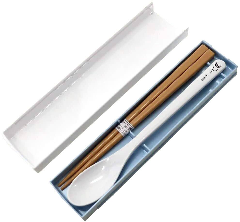 湯筷餐具組 日本 嚕嚕米 Moomin 湯匙湯匙組 日本進口正版授權
