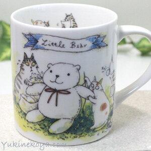 【吉澤深雪】日本精巧貓咪馬克杯-泰迪熊