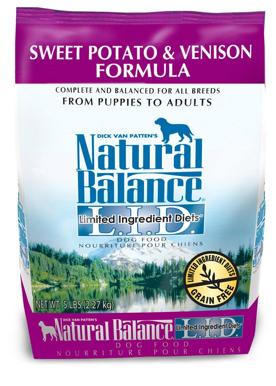Natural Balance低敏無穀地瓜鹿肉全犬配方 5 磅