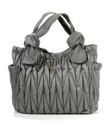Timi&leslie 時尚媽咪包 Marie Antoinette空氣包系列(銀灰)超大容量,時尚設計,多樣用途。