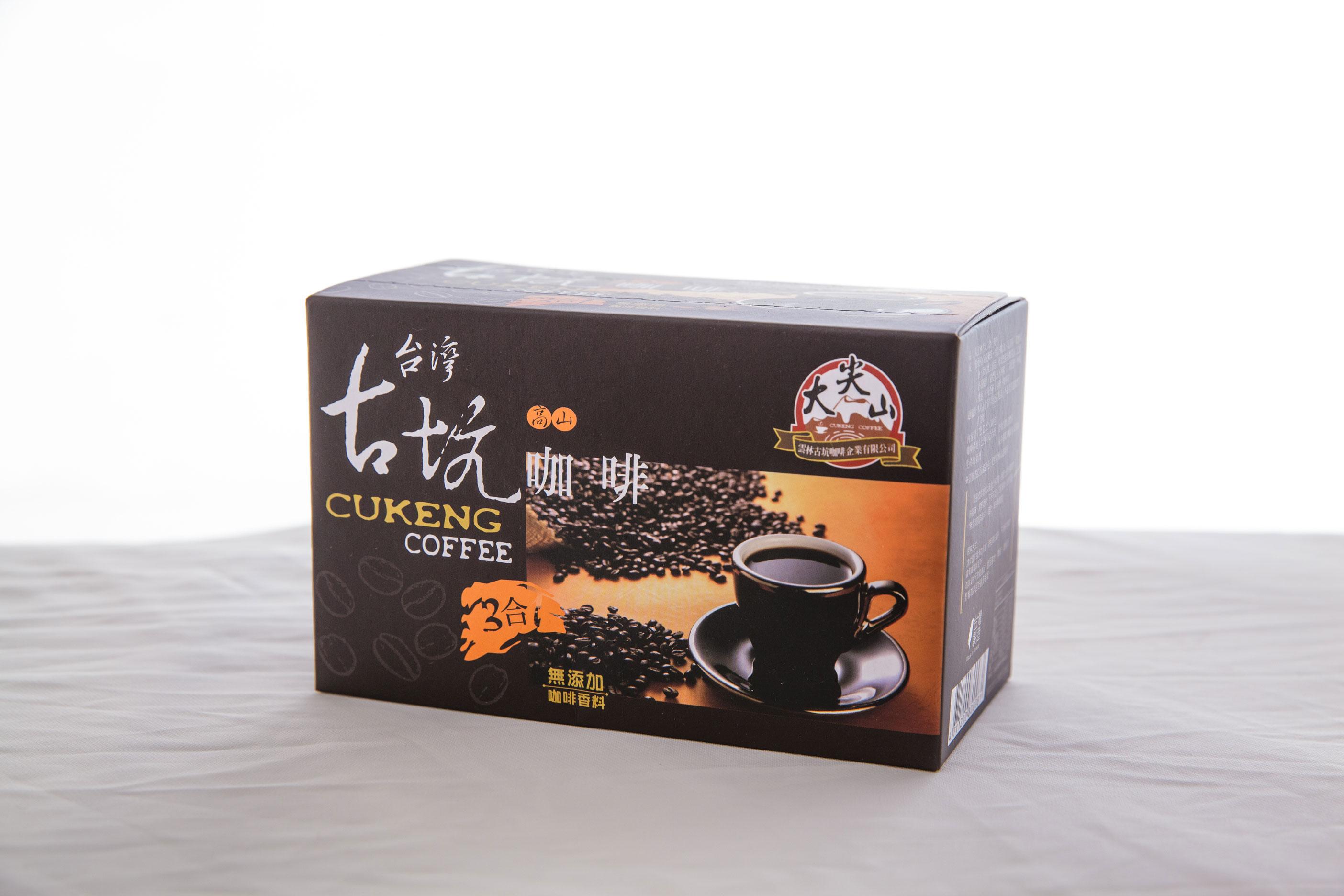 【大尖山】雲林古坑三合一咖啡15入/盒,任搭五盒599元