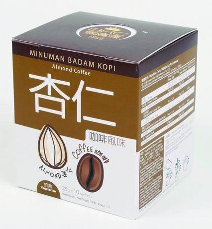 BKC馬廣濟 杏仁咖啡 25gX10包/盒 熱帶咖啡 南洋風味