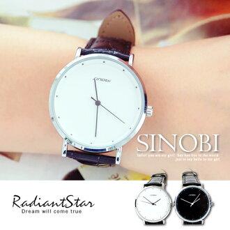 香港SINOBI怦然心動的愛CD圓盤薄形情侶手錶對錶單件【WSI9598】璀璨之星☆