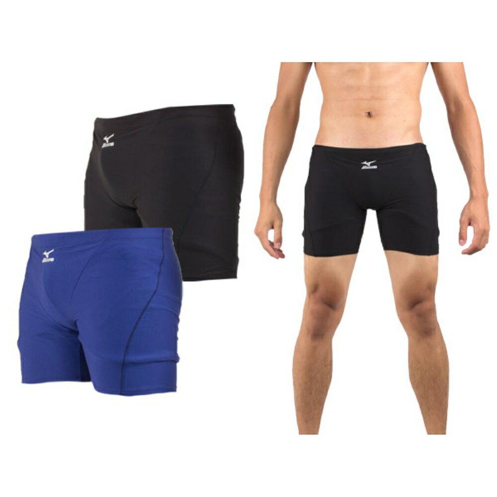 MIZUNO BASIC 男泳褲(四角 海邊 游泳【85UA-300】 ≡排汗專家≡