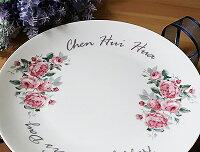婚禮小物推薦到美麗的紀念8吋骨瓷盤 生日禮物 / 婚禮小物 / 母親節