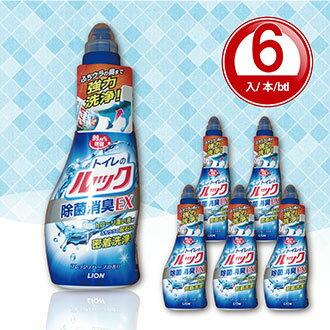 Rela 日樂:馬桶清潔劑【日本製】450ml*6入LIONJapan獅王