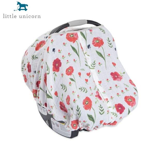 美國【LittleUnicorn】純棉紗布提籃罩-夏日花漾