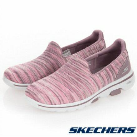 超取$499免運 ▶帝安諾-實體店面 Skechers GO WALK 5 女運動鞋 慢跑鞋 無鞋帶 15044GYPK 15912MVMT