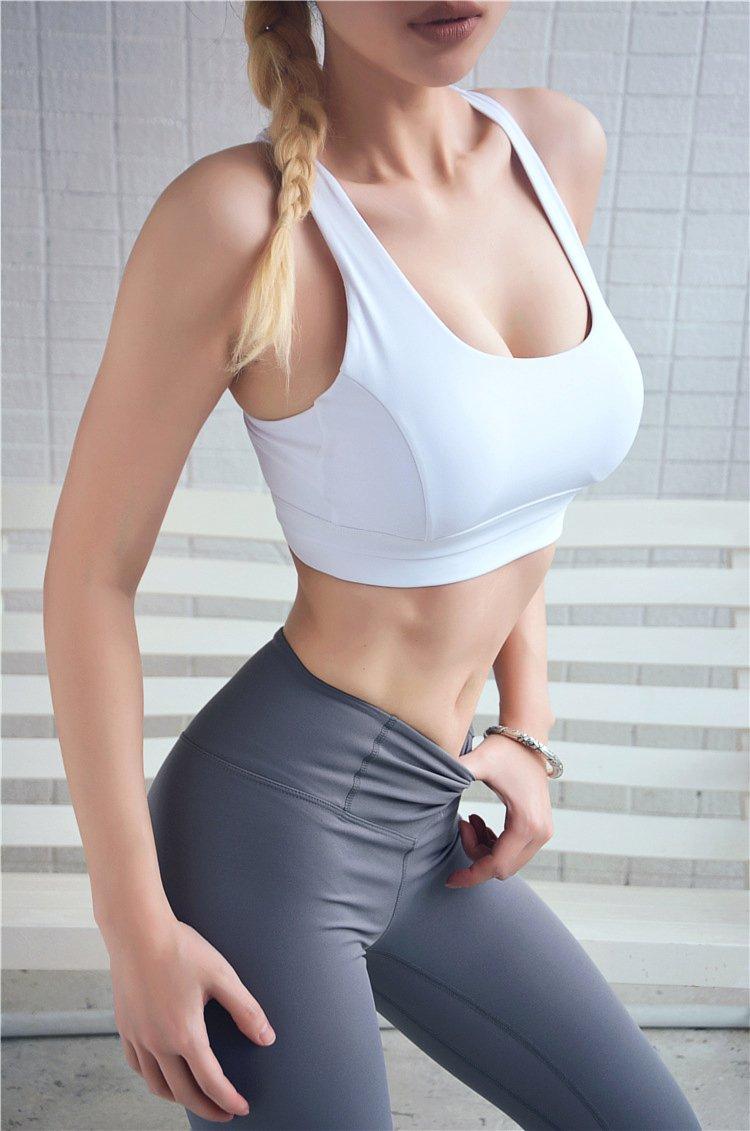 中度支撐可調節美背運動內衣 1