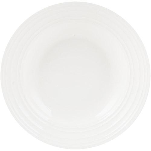《CreativeTops》Mikasa漣漪骨瓷深餐盤(23.2cm)