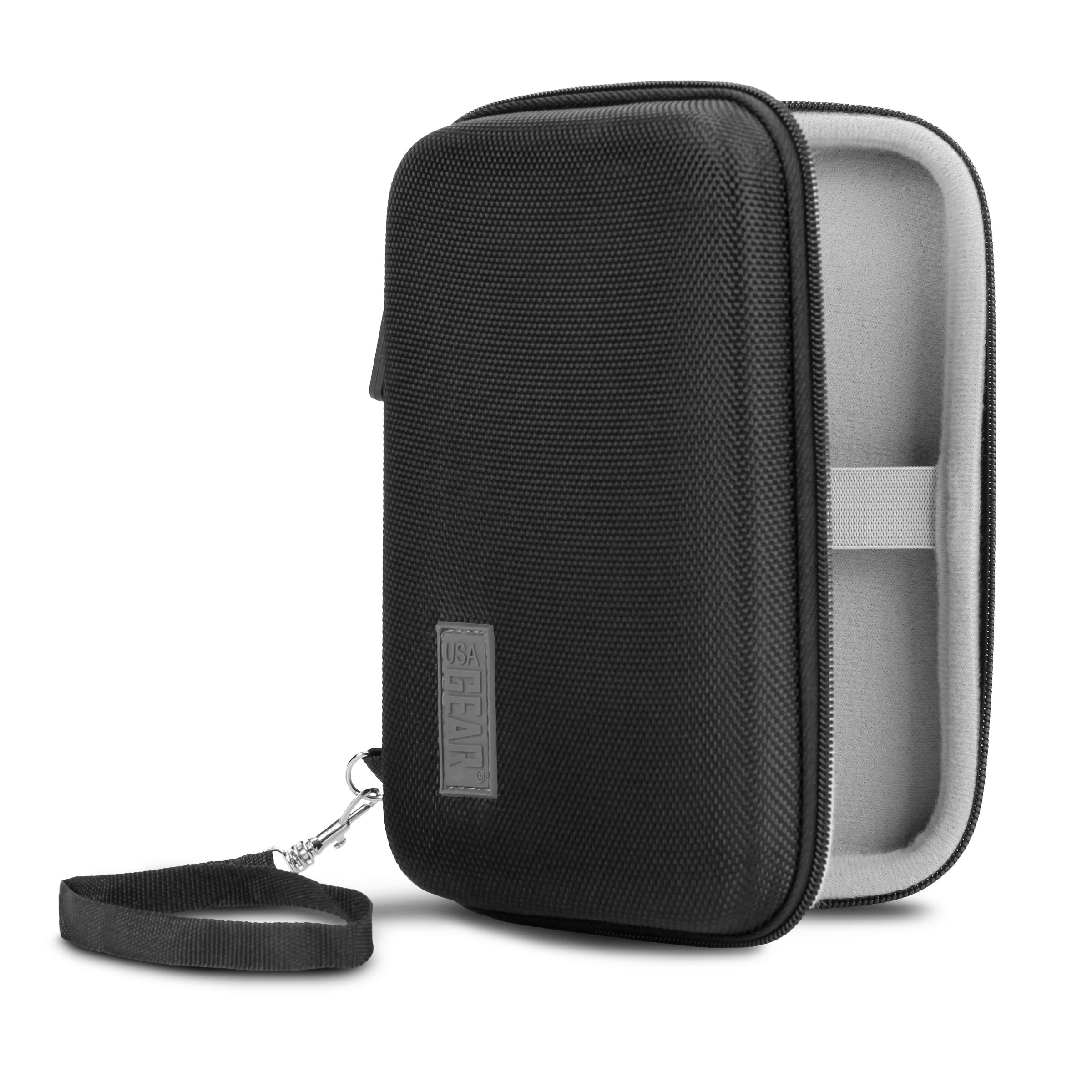 USA Gear External Portable Hard Drive Case for Silicon Power Military with Shell Exterior 0 Accessory Genie: