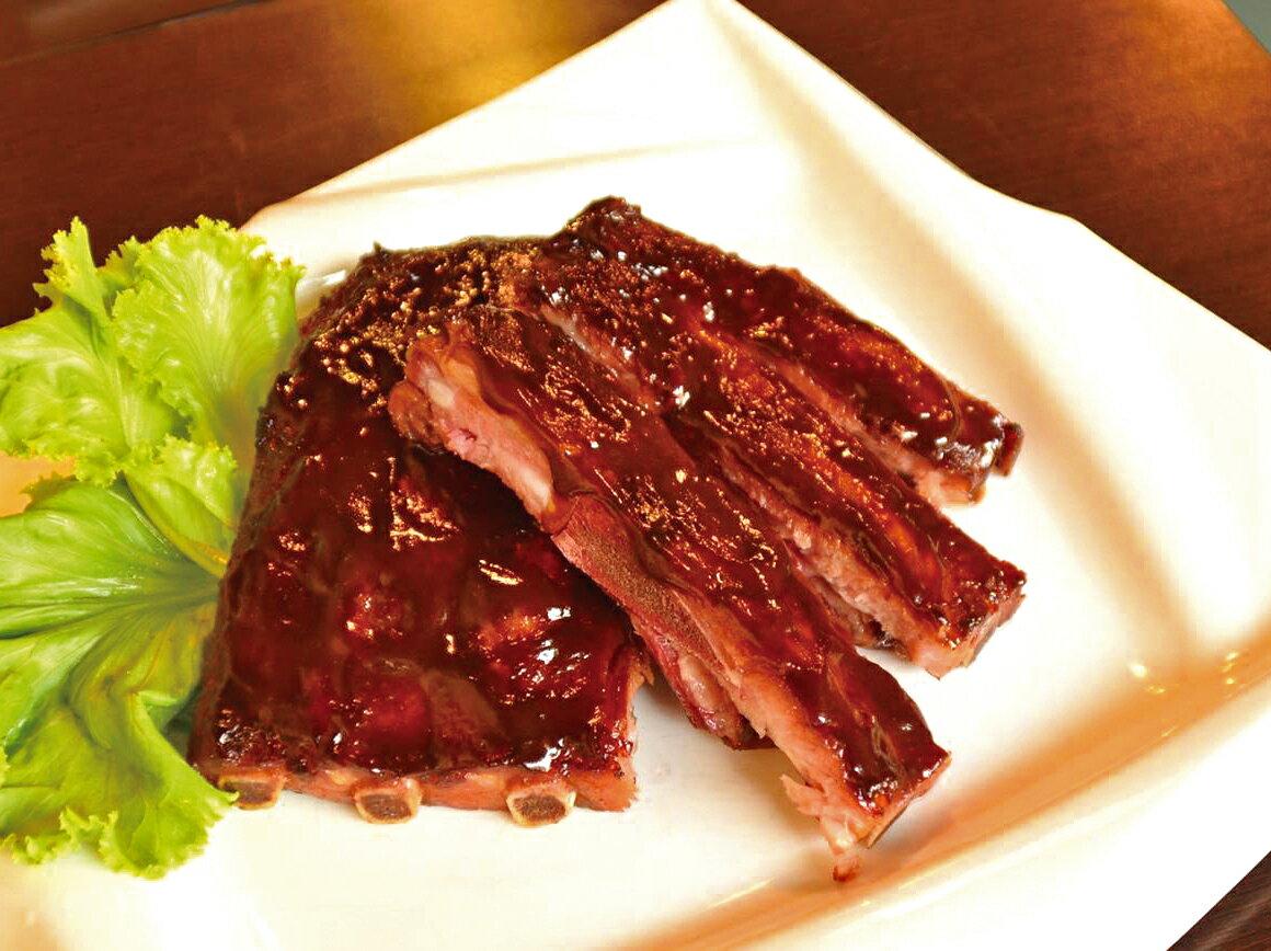 【宏鼎廚房】美式碳烤豬肋排 (350g / 包)
