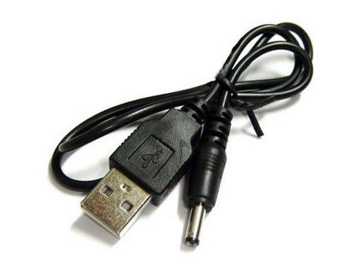 【生活家購物網】DC 3.5 轉USB 電源線 供電線 DC3.5mm 充電線 USB供電輔助線