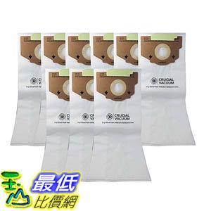 [106美國直購] 9 Eureka Style RR Allergen Filtration Vacuum Bags - Compare With Eureka Part 61115, 61115A..