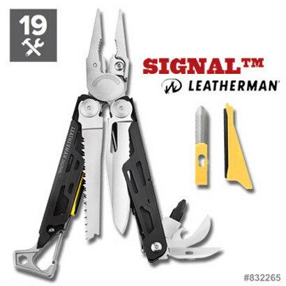 活動價 Leatherman SIGNAL 戶外工具鉗 (附尼龍套)154CM不銹鋼鉗口 832265