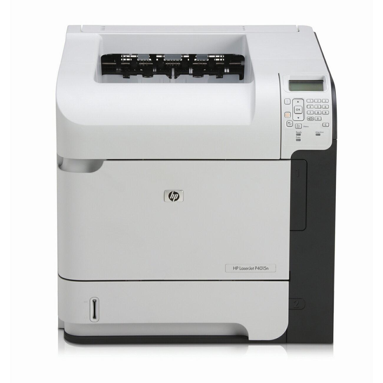 HP LaserJet P4015TN Laser Printer - Monochrome - 1200 x 1200 dpi Print - Plain Paper Print - Desktop - 52 ppm Mono Print - Letter, Legal, Executive, Statement, Com10 Envelope, Monarch Envelope, Custom Size - 1100 sheets Standard Input Capacity - 225000 Du 0