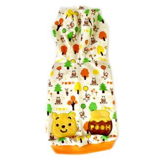 [PET PARADISE] 迪士尼 小熊維尼 森林遊連帽上衣