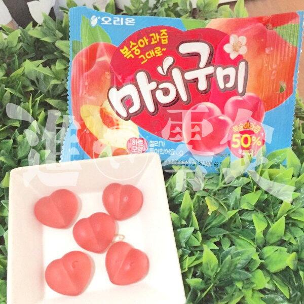 麻吉小舖:韓國GS25超商的限定商品【Haitai透明水蜜桃軟糖】