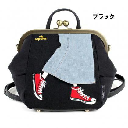 日本mis zapatos / 長裙x帆布鞋設計多功能休閒背包 / b6586 / 日本必買 日本樂天代購直送 7