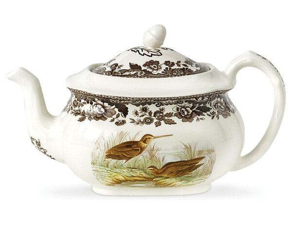 英國SPODEWOODLAND典藏森林地帶1.28L花茶壺