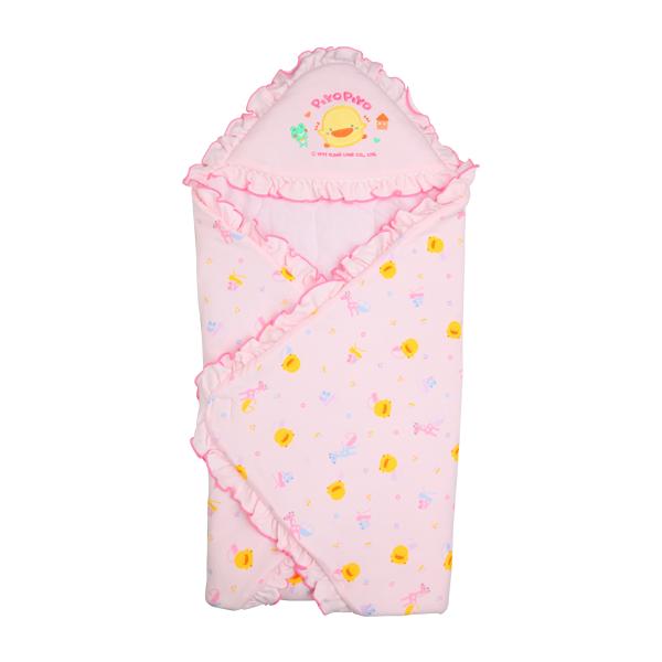 【黃色小鴨】冬季包巾(藍/粉/黃)