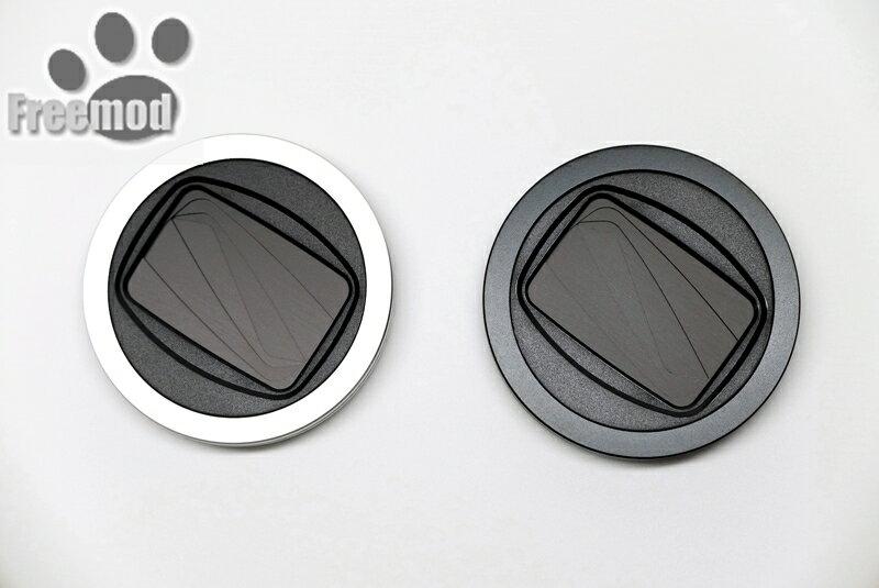 又敗家@台灣Freemod X-CAP2半自動鏡頭蓋46mm鏡頭蓋(黑色/ 銀色)鏡頭前蓋手動蓋適Olympus M.Zuiko Digital 17mm 25mm 1...