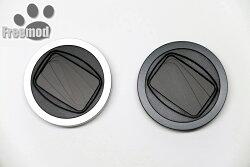 又敗家@台灣Freemod X-CAP2半自動鏡頭蓋46mm鏡頭蓋(黑色/銀色)鏡頭前蓋手動蓋適Olympus M.Zuiko Digital 17mm 25mm 1:1.8 60mm 1:2.8 MZD Panasonic Lumix G 14mm F2.5 II 14-42mm F3.5-5.6 II Leica DG 15mm 20mm F1.7 II 25mm F1.4 35-100mm