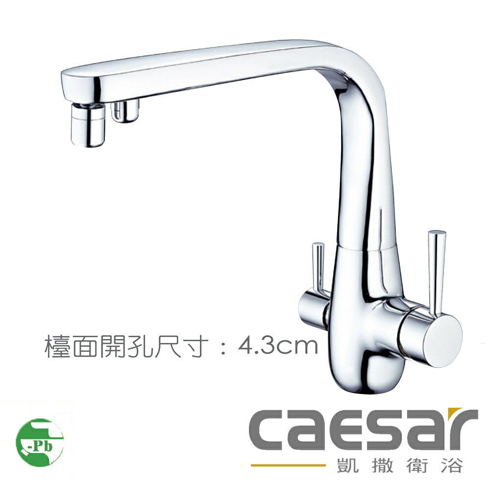 【caesar凱撒衛浴】無鉛立式廚房龍頭(K675CL)