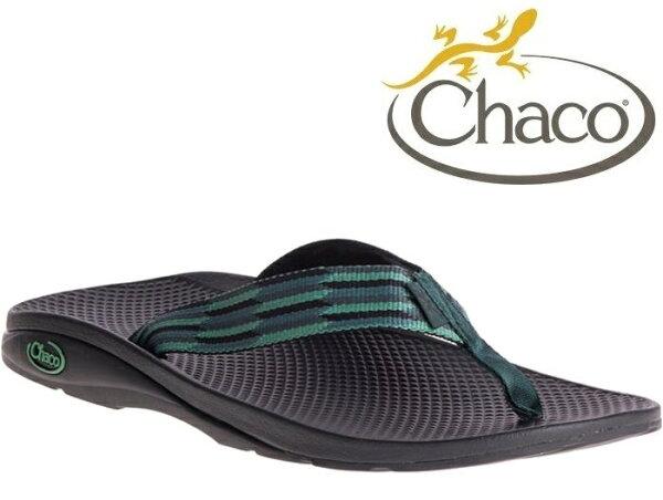 Chaco夾腳拖鞋海灘拖戶外運動涼鞋-沙灘款男美國佳扣CH-ETM01HE27松綠口風琴