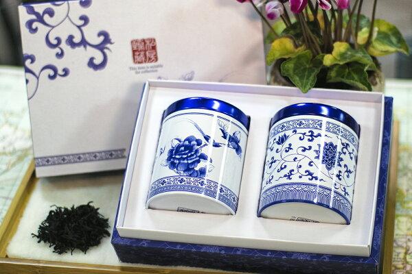 龍寶咖啡:[龍寶咖啡]嚴選台灣好茶台茶18號(紅玉)茶葉150g禮盒組