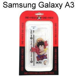 海賊王透明軟殼 Samsung Galaxy A3 [LUFFY] 魯夫 航海王保護殼【正版授權】