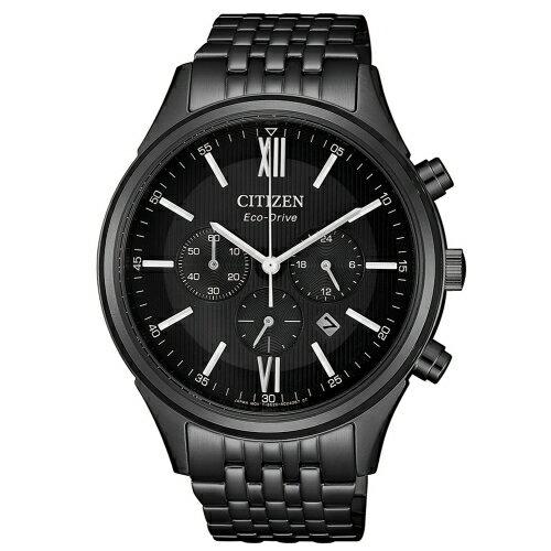 CITIZEN超質感三眼計時光動能腕錶CA4415-81E
