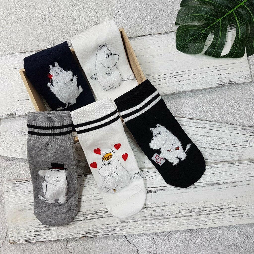【現貨⭐嚕嚕米熱賣】韓國襪子 高質感 嚕嚕米系列棒球短襪 超夯 正韓 中筒 6