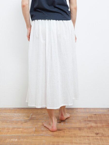 【Bali】亞麻布簡約長裙 瑜珈褲 3