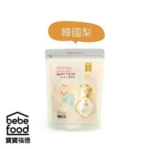 *美馨兒*韓國BEBEFOOD寶寶福德米餅-韓國梨169元