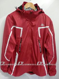 【登瑞體育】KAPPA 男生雙層風衣外套 - C36638491