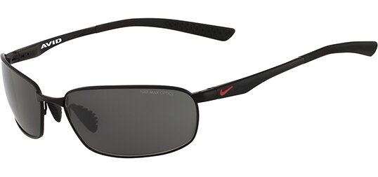 Nike Avid Wire EV0569 Men's Rectangular Black Sunglasses