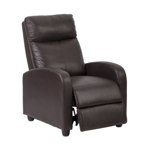Factory Direct: Recliner Chair Modern Leather Chaise Couch