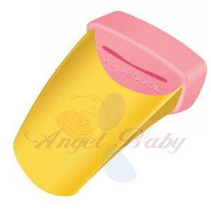 美國【Aqueduck】幼兒專用水龍頭輔助延伸器(粉) - 限時優惠好康折扣