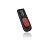 ADATA Classic C008 Retractable Capless USB 2.0 Flash Drive 8 GB Black/Red (AC008-8G-RKD) 0