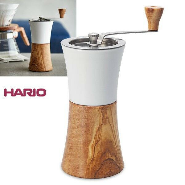 金時代書香咖啡 HARIO 磁石橄欖木手搖磨豆機  MCW-2-OV
