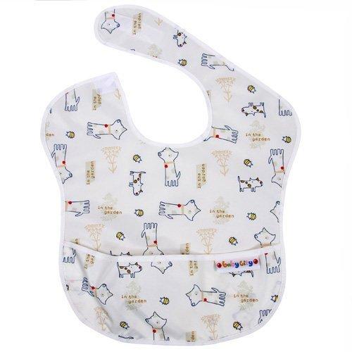 BabyCity娃娃城-防水圍兜(6-24M)米色狗148元