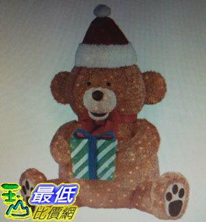 [COSCO代購 如果沒搶到鄭重道歉] 84 吋LED聖誕禮物熊 W1456708