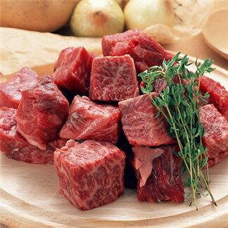 【雞籠好魚】安格斯骰子牛(300g/1包)★原肉裁切 拒絕重組牛★料理方便軟嫩多汁