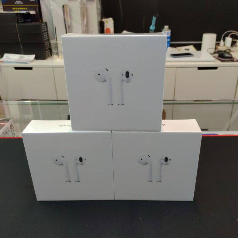 7-11免運-現貨~APPLE AirPods 2代 藍牙無線耳機 有線 / 無線充電盒 全新未拆封台灣公司貨 0