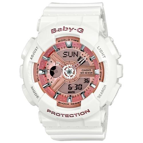 Casio Baby-G White Ani-Digi 3D Watch BA110-7A1 0
