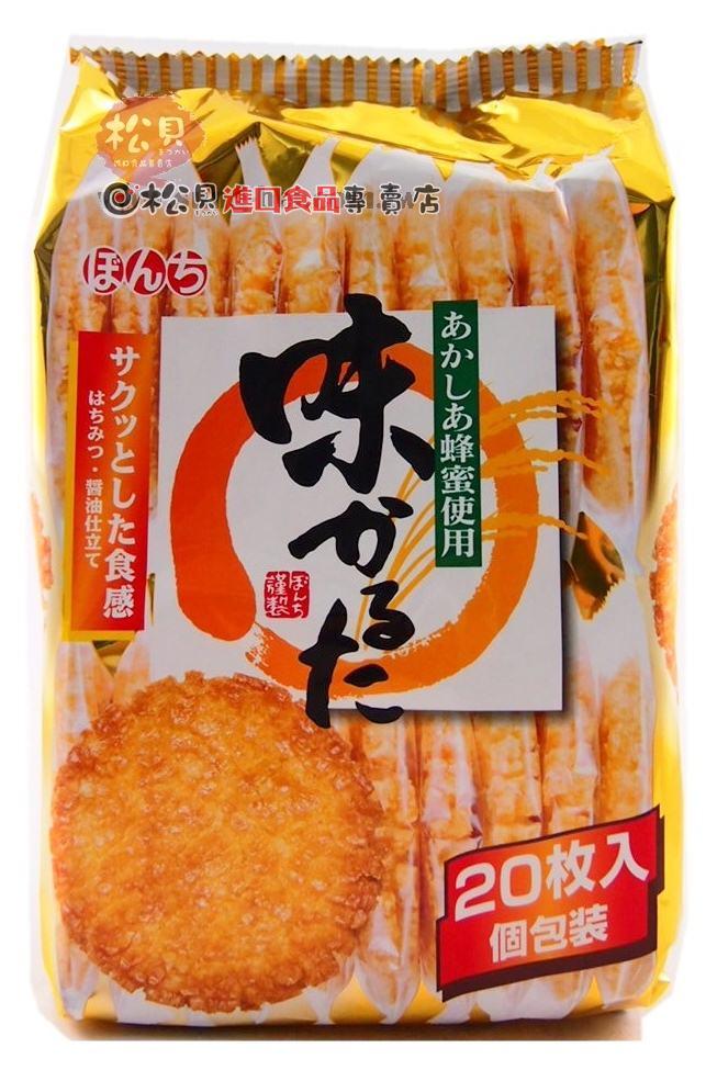 蜂蜜味米果(20枚)大420g【4902450280529】