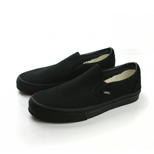 VANS Classic Slip-On 懶人鞋 黑 男女款 C966199 no325